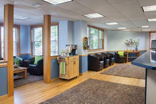 East Providence Office Reception Area Thumbnail